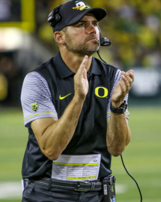 Coach Mark Helfrich needs to win the recruiting battle for the 2017 class