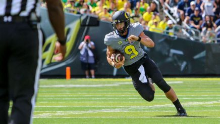 Pressure is on Prukop to lead Oregon offense