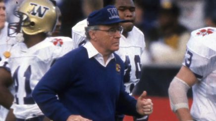 Don James brought a National Championship to Seattle