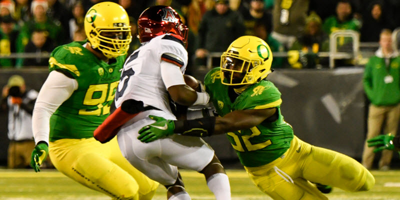 0e8fbc70fed7 2018 Oregon Football  The Ingredients for Defensive DOMINANCE